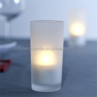 rechargeable LED flameless candles for your spa reuse