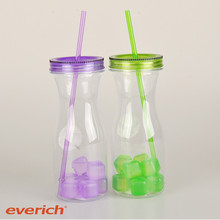 Cheap drinkware promotion BPA free fruit juice bottle