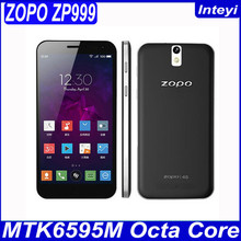 "Original ZOPO ZP999 ZOPO 999 MTK6595 Octa Core 4G LTE Cell Phone Android 4.4 5.5""LTPS 1080P 3GB RAM 32GB ROM 14.0MP OTG NFC A"