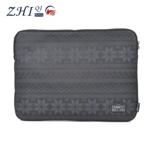 New arrival 100% cotton canvas shockproof laptop computer bag for teenagers
