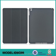 Factory Wholesale Cover case for iPad air 2 , Stand folio back cover for iPad
