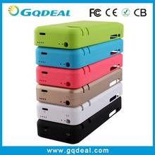 Rechargeable Rohs Battery Case For iPhone 5 Battery Case Power Bank Case Mobile Phone Charger