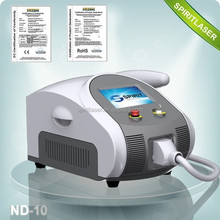 Super Fast Color Touch Screen Logo Customized 10HZ Laser Tattoo Removal Equipment Prices