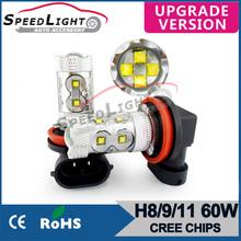 Speedlight Cheapest 20/30W/50W/60W/80W High Power H8/H9/H11/ LED Fog Light