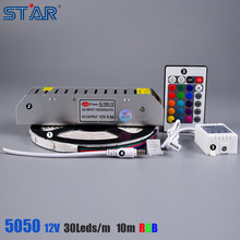 Remote control 10m 5050 rgb dream color 6803 ic led strip light