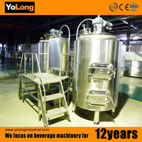 Good quality 200L craft beer equipment with fermentation vats