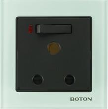 Electrical 15A wall socket ,BS standard