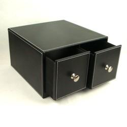 High quality PU/PVC leather Cd holder, cd/dvd case