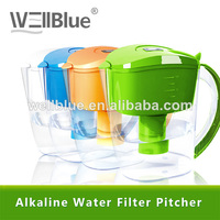 Manufacturer Pitcher Water Filter Alkaline -PF601 (pH 8.5-10.4 ,ORP -150mv to-300mv)