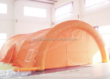 inflatable outdoor shelter