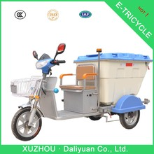 3 wheel electric bicycle 3 wheel motorcycles used for garbage