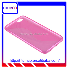 shenzhen S line tpu mobile phone case for IPHONE 6 PLUS or oem service