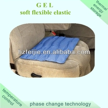 gel wheel chair cushion for impact pressure relief and cooling