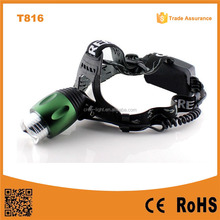 Manufacturers T6 LED 500Lm 3 Mode Batteries Rechargeable head led lamp