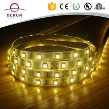 Green light 8mm width 2700K 3528 led strip lighting in IP65