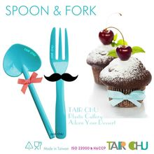 Party Supplies Food Grade Plastic Spoon and Fork for Cake Decorating