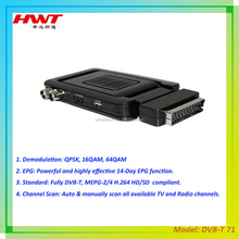 Popular model dvb-t ]freeview digital receiver set top box mpeg4/h.264 FTA made in china factory
