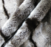 100% Polyester high-quality fake marten fur fabric