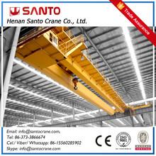 Durable Electric Double Girder Overhead 50 Ton Mobile Crane