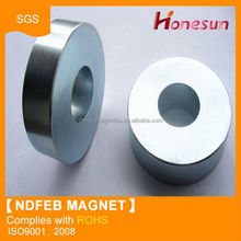 Rare earth strong neodymium ring magnet custom manufacture in China
