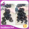 grade 7a full ends red color indian remy human hair weaving