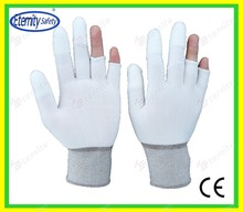 double coated on the fingertip Thoughtful good service concept safety glove