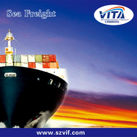 Guangzhou sea freight forwarder to Dammam for CLASS A forwarder