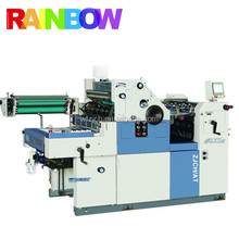 Mini offset printing machine with numbering printing