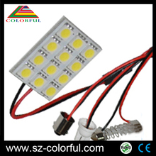 High quality led auto lights ceiling lights 12smd 5050 for toyota estima parts