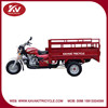 Fashion design red 200cc air-cooled three wheel motorcycle cargo