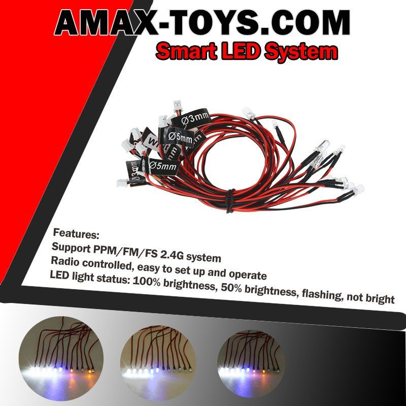911004-Smart LED System Support PPM-FM-FS 2.4G System for 1-10 TAMIYA Touring Car-2.jpg