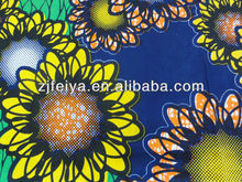 2014 new design 100% cotton high quality African wax printed fabric