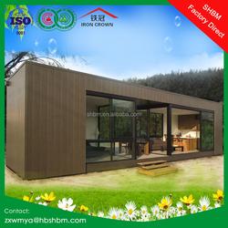 light steel frame prefab 40ft portable flatpack 20ft container house villa, office, home