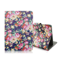 New Retro Flowers PU Leather Smart Cover Cases For iPad Mini 4