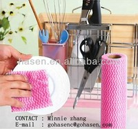 high absorbent non-woven kitchen dishcloth