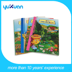 pp plastic protective file cover decoration