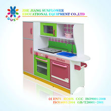 Kitchen House Wooden Kids Playhouse Children Play House Indoor Playground equipment XYH12138-3