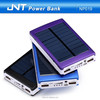 high capacity rechargeable dual USB output Solar power bank charger NP019