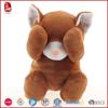 Brown cute kitten stuffed animals plush cat kids toys high quality