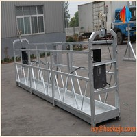 ISO&CE working suspended lifting cradle adjustable electric power gondola