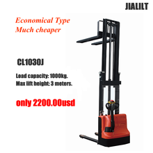 Full Electric Stacker CL1030J Economical Type