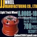 rodas de aço para caminhões leves