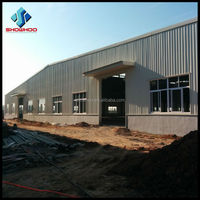 industrial building design structural steel frame warehouse construction