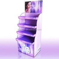 Elegant acrylic cosmetic display cabinet