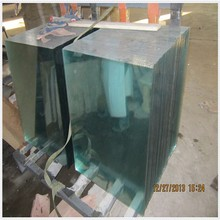 CE&ISO9001 clear float glass pieces in good quality for sale
