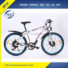 250w 36V Samsung Lithium Electric Bicycle City with EN15194