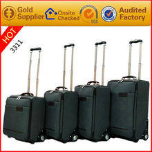 Promotional exclusive 4 wheels trolley laptop bags