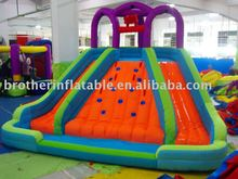 2012 cheap and fine giant inflatable three way slide