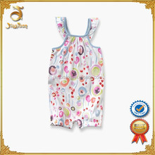Wholesale 100% Cotton Baby Clothes Baby Summer Clothing Baby Rompers Girl Set