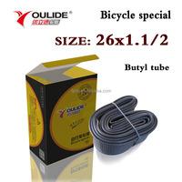 butyl bicycle inner tube 26*1 1/2